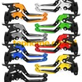 Foldable Extendable Brake Clutch Levers For Kawasaki Ninja ZX6R / ZX636 2005 2006 CNC 8 Colors Adjustable Folding Extending