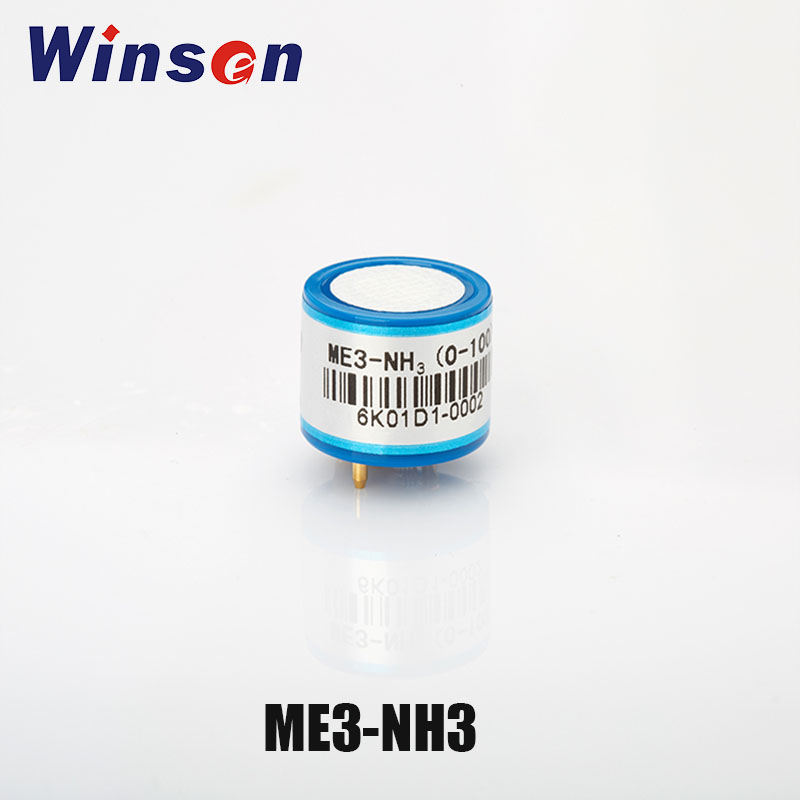 2PCS Winsen ME3 NH3 Electrochemical Sensor Ammonia Gas Concentration Detect Excellent Repeatability and Stability Free Shipping
