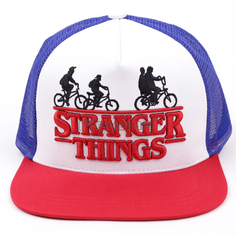 Stranger Things   Baseball     Cap   Snapback Hat For Boy Men Women Brand Adjustable Hats   Caps   2018 Fashion New