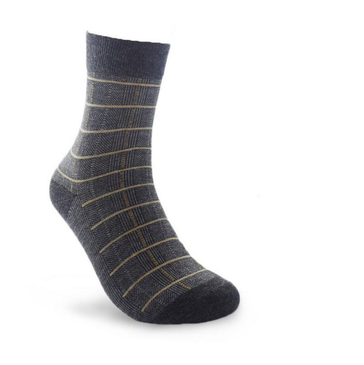 5 pairs/lot Mans pure Cotton Socks men sox soks high quality stripe tube casual sock free shipping male man gentleman