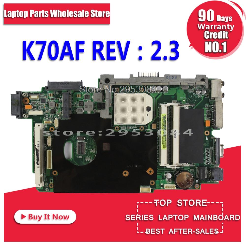 K51AB материнская плата для ASUS k51ac k70ac X7AC X7AE K70AE K51AE K70AB K70AF K70AD материнская плата для ноутбука HD4570 512 МБ VAG видео карты