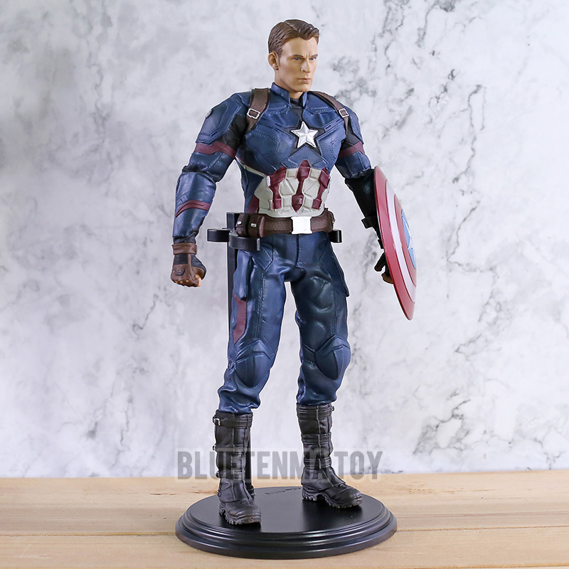 Captain America 3 Civil War Action Figures PVC Collection Model Toys Gift for Kids