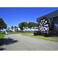 Free Shipping 4m/13ft Giant Outdoor Inflatable Foot Dart Board /Inflatable Soccer Darts Game,Inflatable Darts Games
