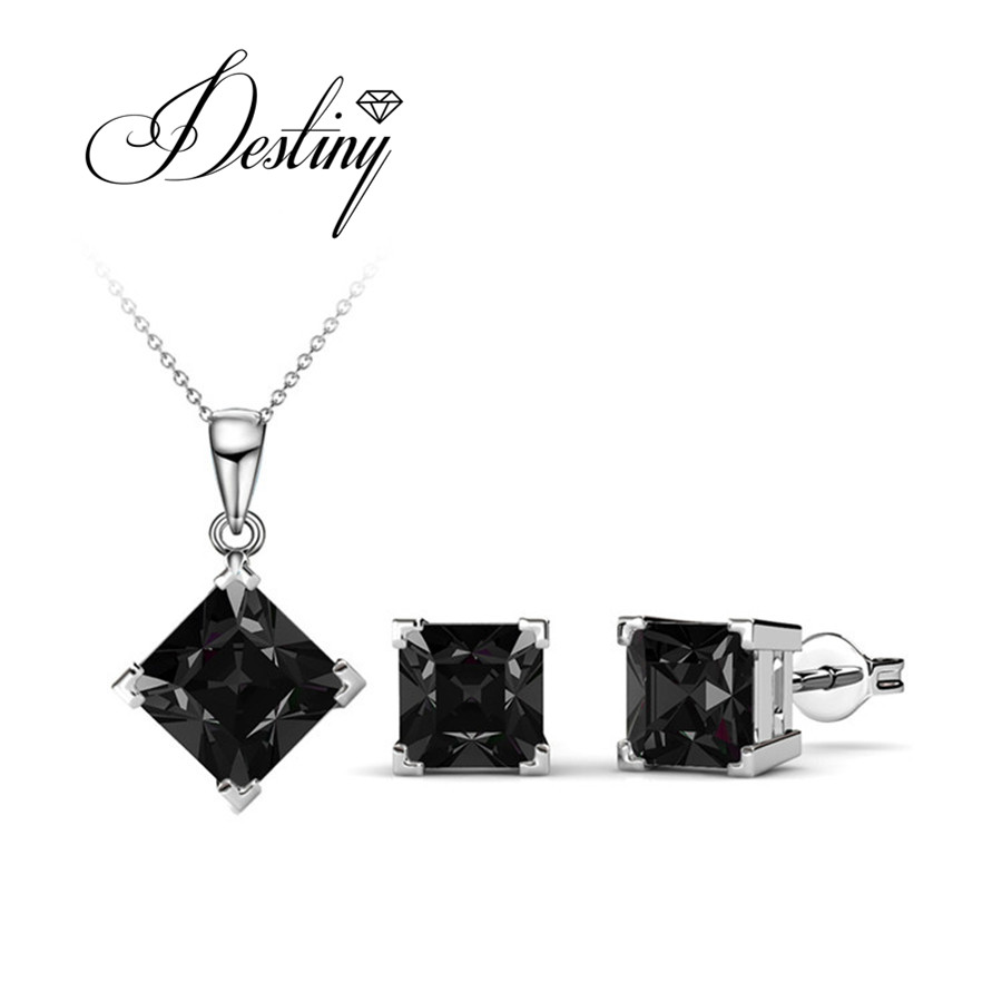 d3c0f4f7d Destiny Jewellery Embellished with crystals from Swarovski Jewellery sets  Classic Jewellery sets DS033-in Jewelry Sets from Jewelry & Accessories on  ...