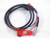 New Trimble Trimmark 3 External Power Cable with alligator clips