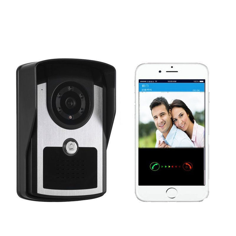 KINCO Waterproof WIFI Smart APP Remote Control Doorbell P2P Push Visitor 1080P Machine Calls Home Safety Infrared Night Vision kinco night vision video doorbell smart home wifi remote control hd waterproof dtmf motion detection alarm for phone