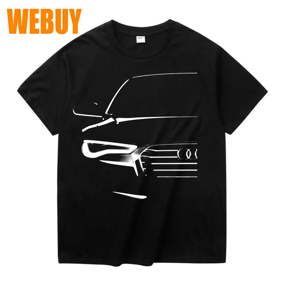 Graphic Audi A6 Last Tee   Shirt   For Man Retro Big Size   T  -  Shirt   Top design New Arrval   T     shirt   3D Print Tees