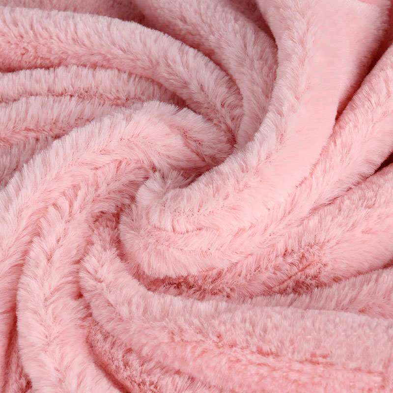 Fluffy And Soft Faux Fur Fabric1 Meter Kunstig Kanin Hår Fashion Frakke, Pude, Tæppe, Legetøj DIY Symateriale