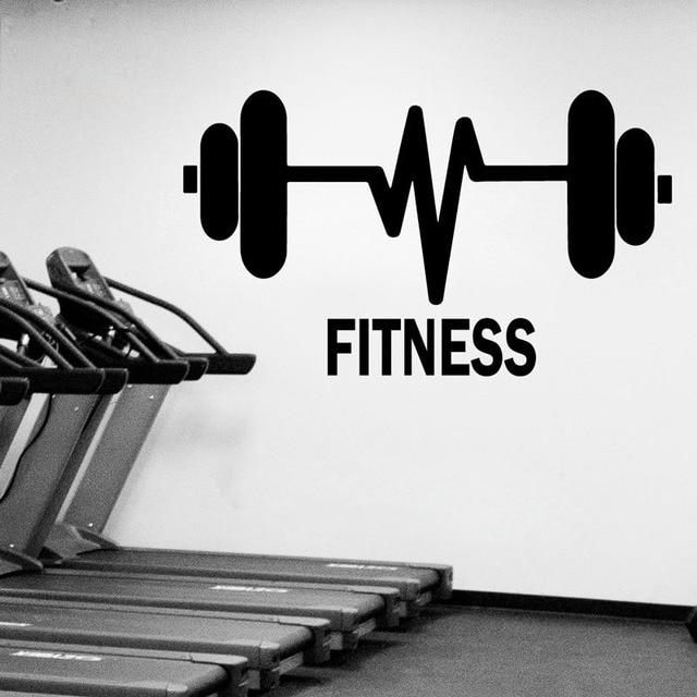 Gy barras de pesas gimnasio fitness gym sport pared