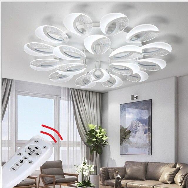 LED Ceiling Chandelier Lighting Surface Mounted  Living Room Bedroom Chandeliers Modern LED Home Lighting Fixtures AC110V/220V