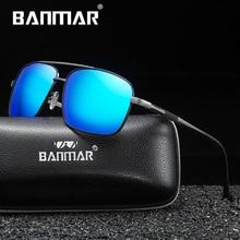 BANMAR Retro Sunglasses Polarized Vintage Women Sun Glasses Driving Men Eyewear Accessories Oculos de sol masculino