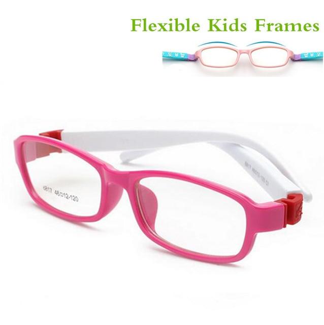 Flexível Seguro Óculos crianças óculos armações de Óculos moldura para  crianças TR Infantil meninas miopia óculos 6edd584fee