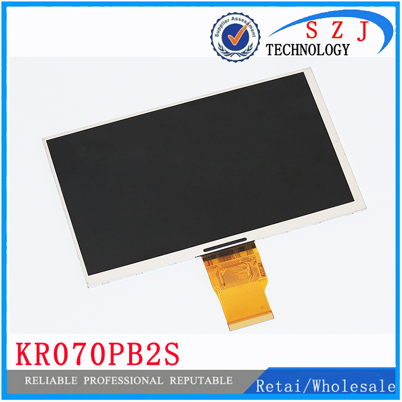 New 7'' Inch 50PIN LCD Display KR070PB2S KR070PB2S REV:C For Tablet Display Screen Size:165*100mm(800*480) Free Shipping