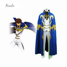 Ainclu Customize for adults kids Code Geass Kururugi Suzaku Men Halloween