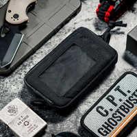 OneTigris wodoodporna kieszonka edc przenośny klucz portmonetka na drobne portfel zestaw podróżny moneta Mini torebka i gniazda kart i wodoodporne zamki błyskawiczne