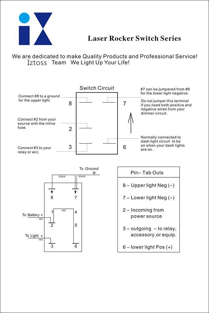 Modern 5 pin rocker switch wiring diagram model wiring diagram iztoss blue led 3 gang 5pin rocker switch panel with 5v 31a dual asfbconference2016 Gallery
