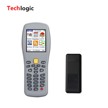 Wireless laser bar code gun for POS system, Bar code scanner handheld terminal PDA for warehouse and supermarket,