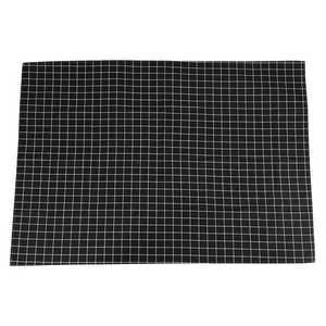Image 1 - ホット黒のチェック柄テーブルクロスホームコーヒーテーブル装飾簡単なテーブルクロスホームレストランショップ装飾