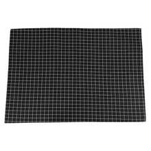 Nappe à carreaux noire chaude nappe basse décorative pour la décoration de magasin de Restaurant à la maison