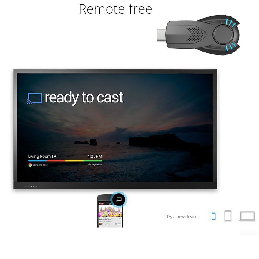 Wifi qəbuledici Ezcast TV Dongle DLNA Miracast Airpaly IOS Android - Portativ audio və video - Fotoqrafiya 3