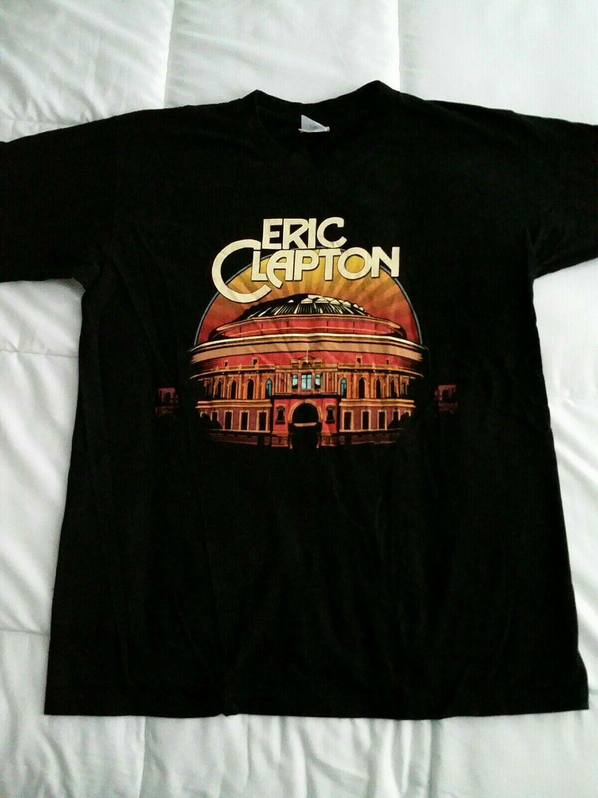 Fashion Eric Clapton 2020 Concert Tour T-Shirt Size S-5xl Casual Tops Men Popular T Shirt Short Sleeve The New Camisa
