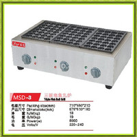 free shipping hot sale electric takoyaki plate 220V takoyaki maker machine