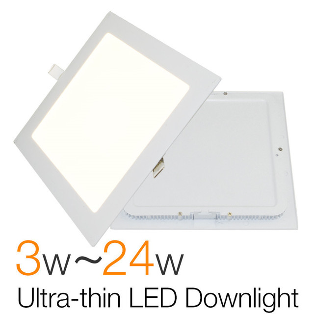 Ultra Thin Square Led Downlight Slim Panel 3w 6w 9w 12w