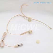 Pro BP892 Headset Microphone For Audio Technica Foldable Wireeless Headworn Mic MiCWL