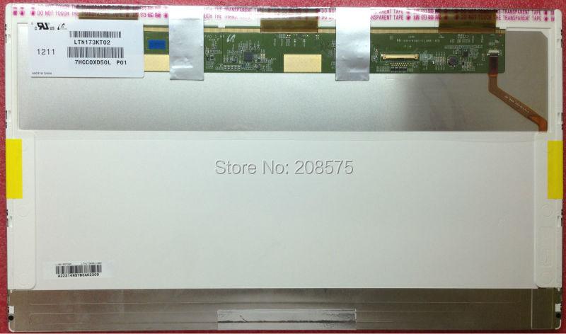 Livraison Gratuite LTN173KT02 B173RW01 V4 V5 LTN173KT01 N173O6-L02 LP173WD1 N173FGE-L21 L23 Ordinateur Portable LCD Écran 1600*900 LVDS 40pin