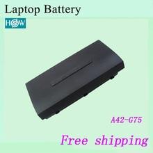 Фирменная Новинка 8 ячеек a42-g75 Аккумулятор для ноутбука ASUS g75 G75V g75vm G75VW g75vx Тетрадь батареи