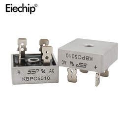 2 шт KBPC5010 диода мост выпрямительный диод 50A 1000 V KBPC 5010 силовой выпрямительный диод electronica componentes
