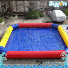 Inflatable Biggors Commercial Grade Inflatable Square Pool For Rental