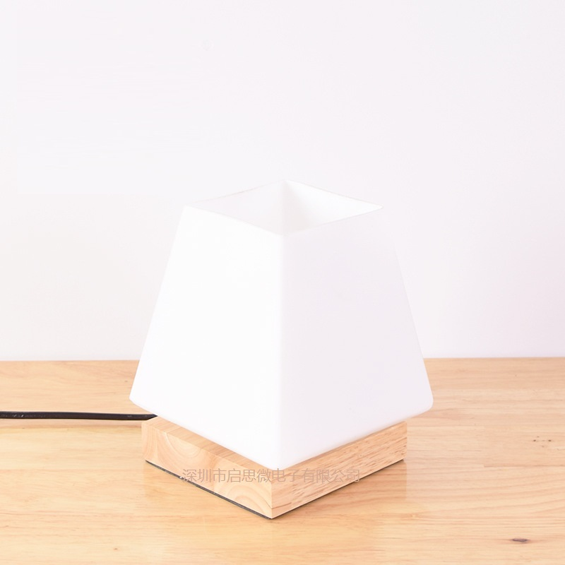 Minimalist Modern Fashion Decoration E27 110V/220V European creative wooden Table Lamps For Bedroom/Living Room Lighting