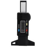 Digital portátil LCD Medidores De Presión De Neumáticos de Coches Auto Motocicleta Neumático Digital Medidor de Profundidad de dibujo Herramienta de Seguridad de Conducción