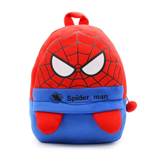 Z Red Bag Spiderman Backpack For Children 3 To 5 Year Old Kids Schoolbag Bookbag