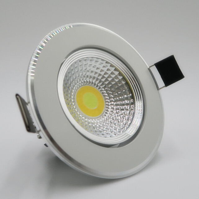 Free Shipping High quality 9W <font><b>Can</b></font> change temperature( cool/natural / warm white)cob led down light ,led <font><b>recessed</b></font> light,CE ROHS
