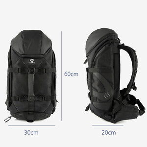 Image 5 - OZUKO marka mężczyźni podróży o dużej pojemności 15.6 cal laptopa plecak mężczyzna wielofunkcyjne górskie plecaki torby sportowe na zewnątrz