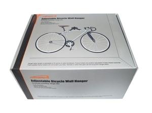 Image 5 - IBERA Wall Mount Hook Hanger Bike Bicycle Rack Garage Space Saver Metal Holder