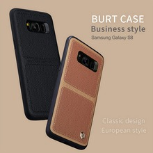 NILLKIN BURT Case For Samsung Galaxy S8 / S8 Plus Slim Scratch Resistant Mobile Phone Back Cover For Samsung Galaxy S8 Plus Case