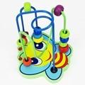 Children Around Bead Puz zle Wooden Game Toys, Kids Animals Educational Stringing Block & Hobbies Boys&Girls Christmas Gift W441
