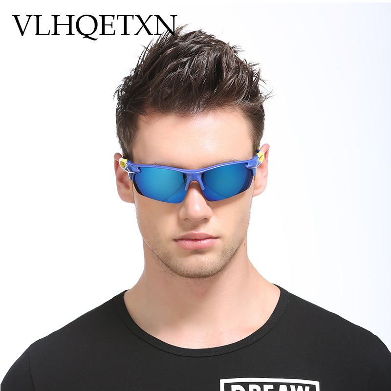 VLHQETXN Male Sunglasses Vintage Polaroid Sun glasses for Men Lunette Polarized Driving  ...
