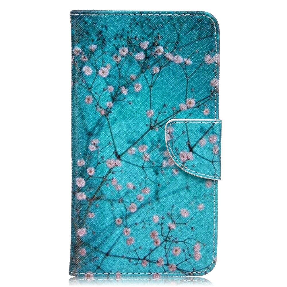 Funda de cuero PU con tapa tipo billetera para Huawei Honor 5X funda con soporte y tapa trasera de cuero PU con tapa cubierta de la Caja