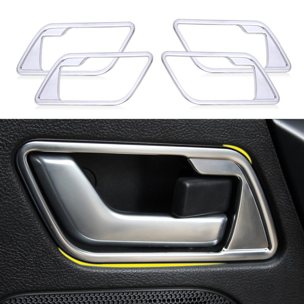 2010 Land Rover Lr2 Interior: Beler 4pcs Interior Door Handle Cover Frame Trim For Land