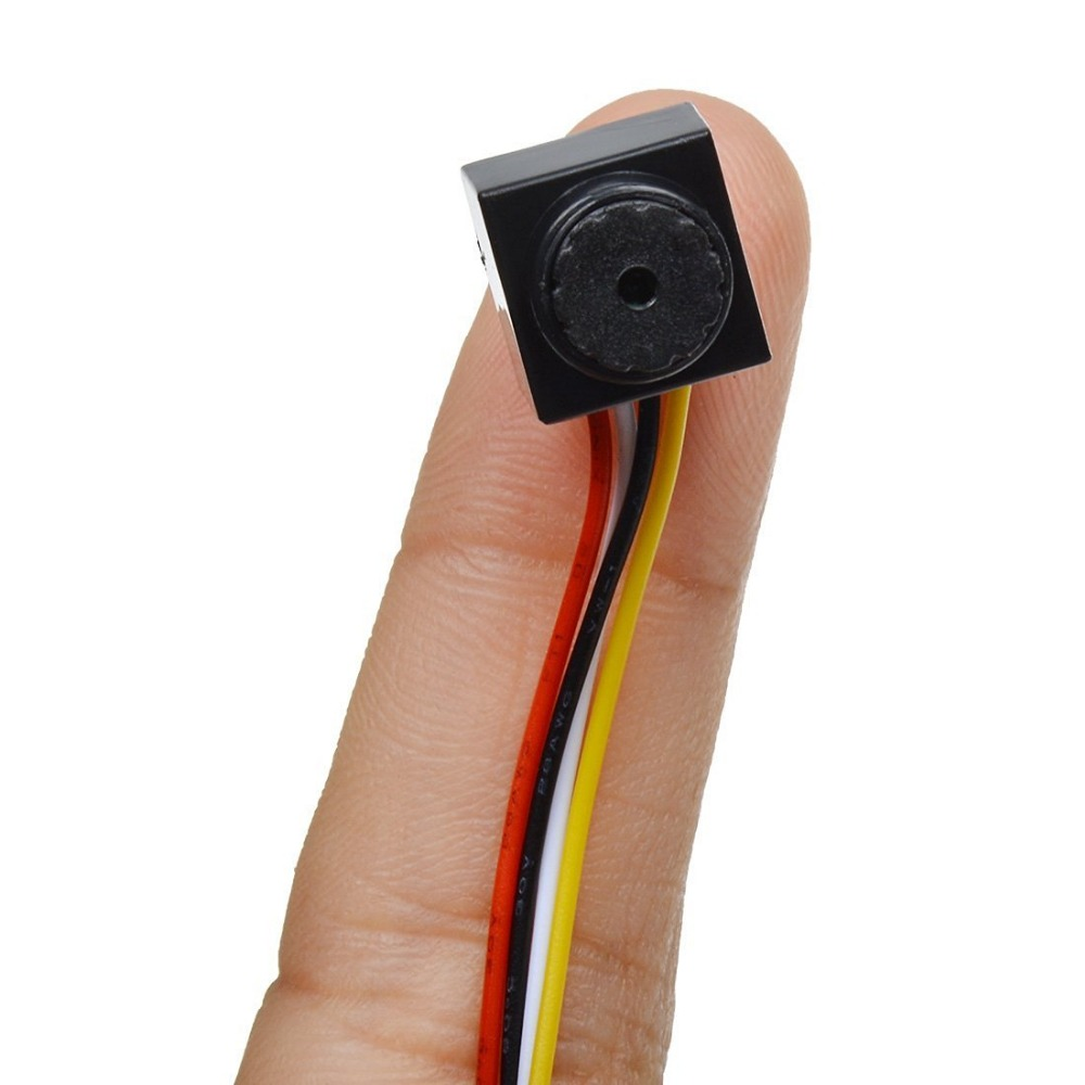 3.6mm Lens HD 800TVL FPV Mini Camera Microphone CCTV Home Security Video Cam