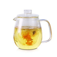 Large Jug Glass Water Kettle Tea Pot My Water Pots For Flower Coffee With Handle Boiling Cold Drinkware 600ml 1200ml цена и фото