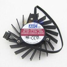 Новый Оригинальный AVC BASA0710R2U Quadro Q4000 2 ГБ видеокарты вентилятор
