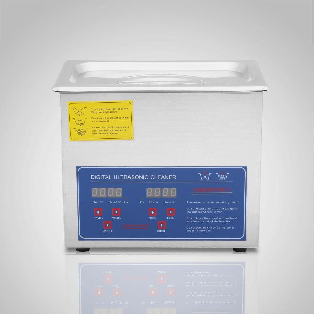 Vevor JPS 20A 3l profissional digital ultra sônico jóias líquido de limpeza - 2