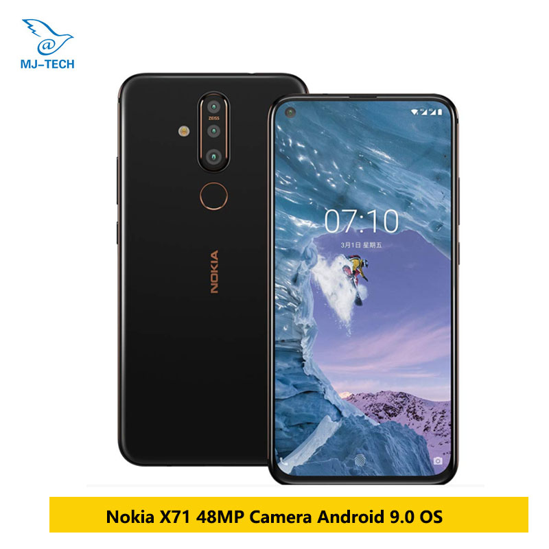 Nokia X71 Mobile Phone 6GB RAM 6 39 Snapdragon 660 Octa Core Android 9 48MP Camera