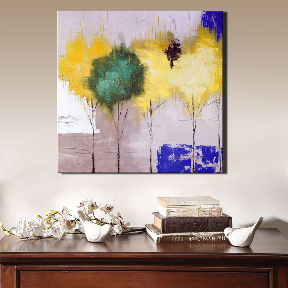 Aliexpress.com : Buy Abstract Colorful Flower Canvas