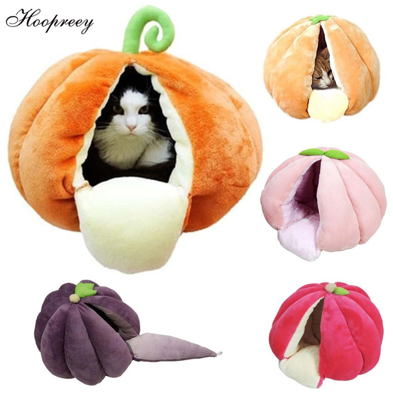 cute-fruits-shape-cat-bed-soft-fleece-cat-cave-kennels-winter-warm-semi-closed-cat-house-yurt-for-small-puppy-dogs-and-cats-10a